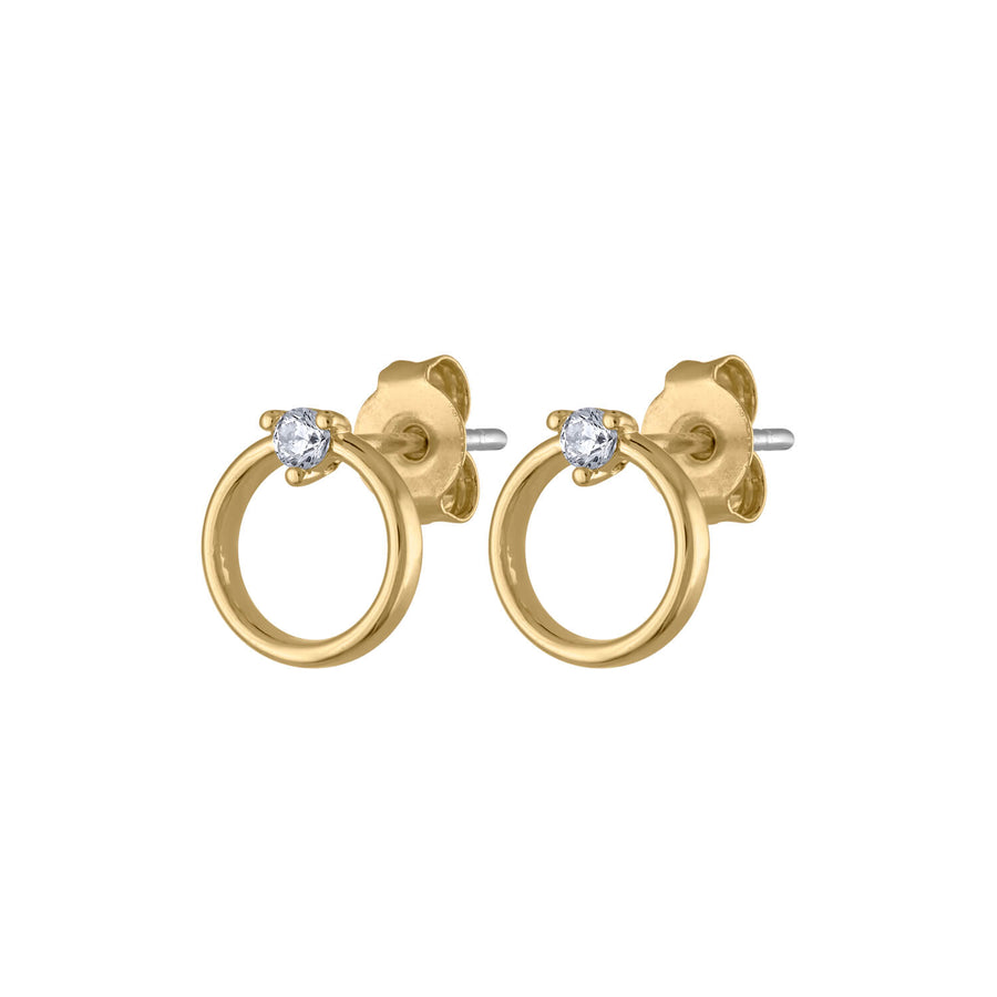 Crystal Orbit Studs at Maison Miru Jewelry @maisonmiru