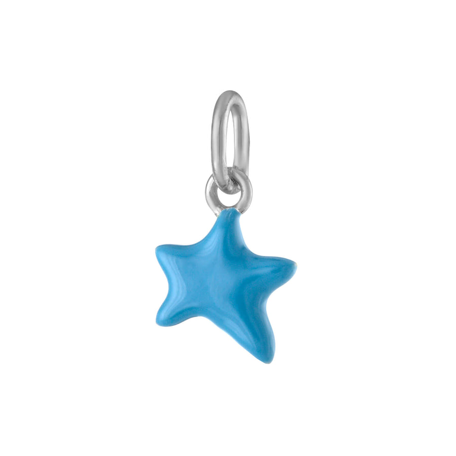 Itty Bitty Turquoise Wishing Star in Sterling Silver