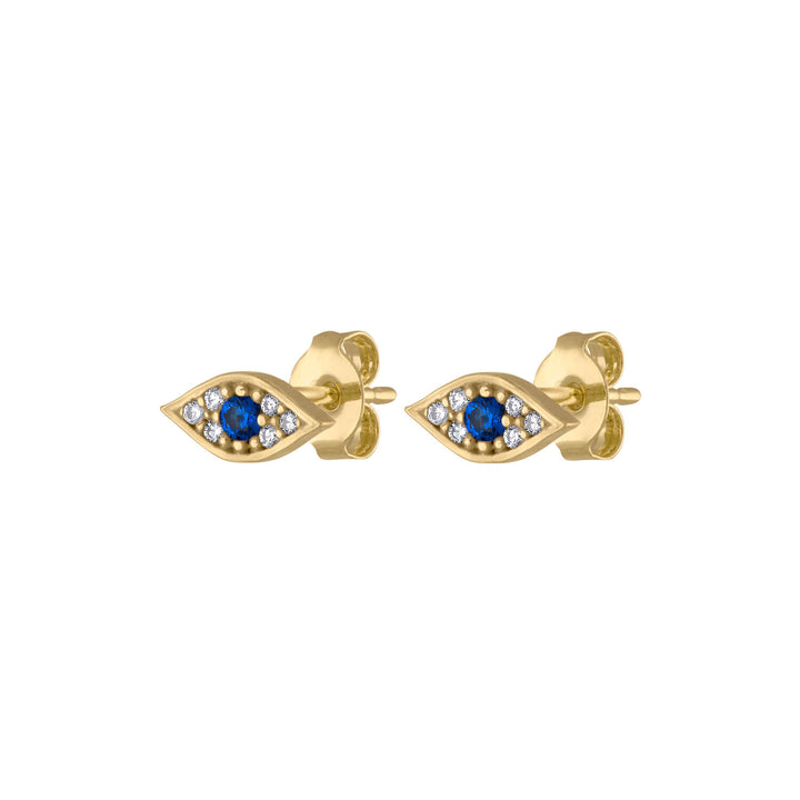 Evil Eye Studs at Maison Miru Jewelry @maisonmiru
