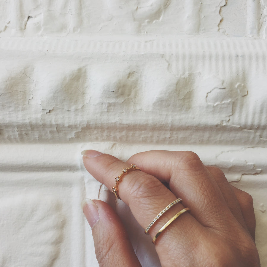 Juliet Ring at Maison Miru Jewelry @maisonmiru
