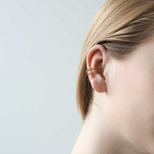Tiny Secret Studs at Maison Miru Jewelry @maisonmiru