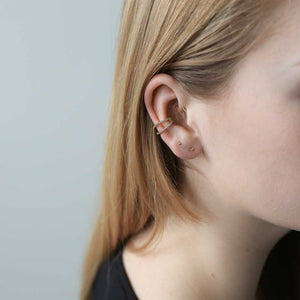 Infinite Ear Cuff on model
