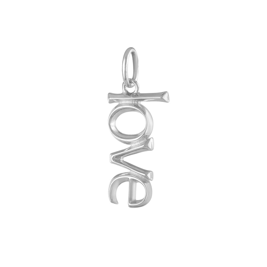Love Charm in Sterling Silver at Maison Miru Jewelry @maisonmiru