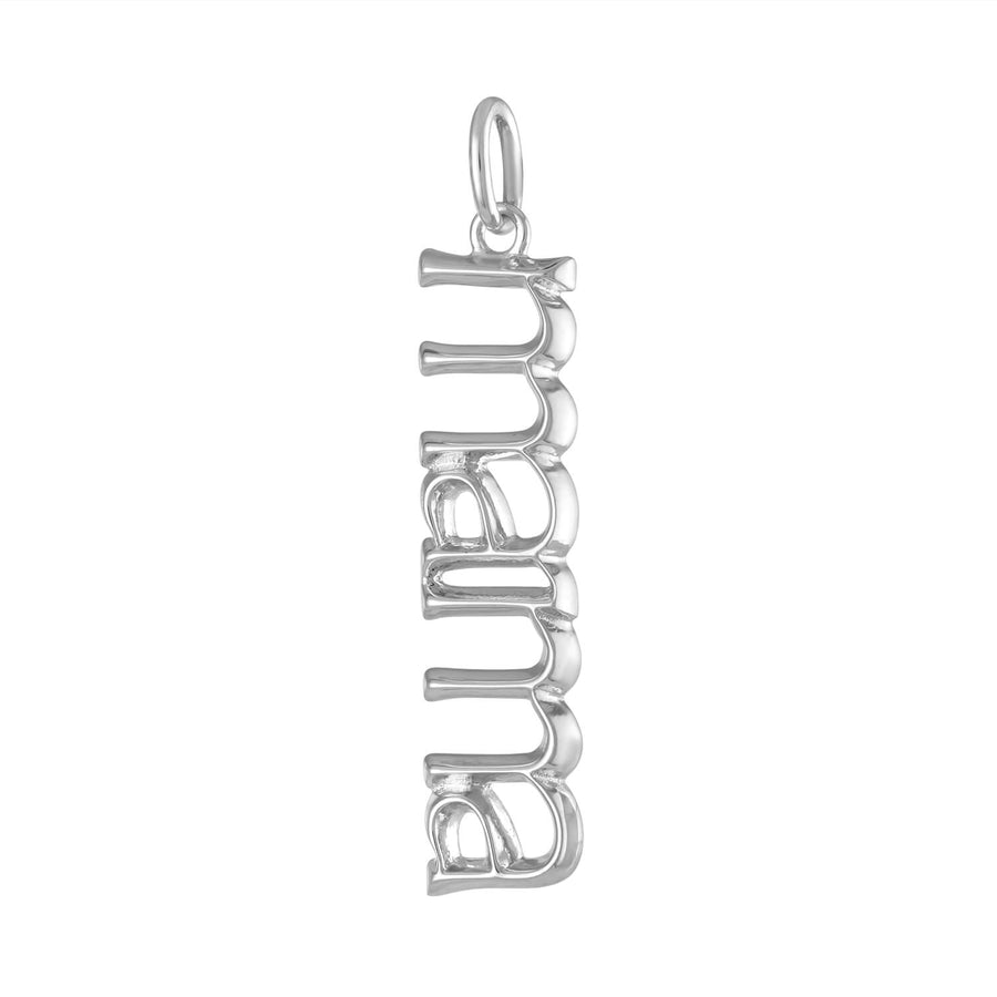 Mama Charm in Sterling Silver at Maison Miru Jewelry @maisonmiru