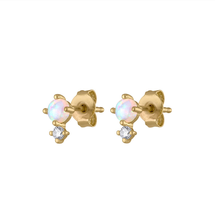 Wish and Hope Opal Studs at Maison Miru Jewelry @maisonmiru