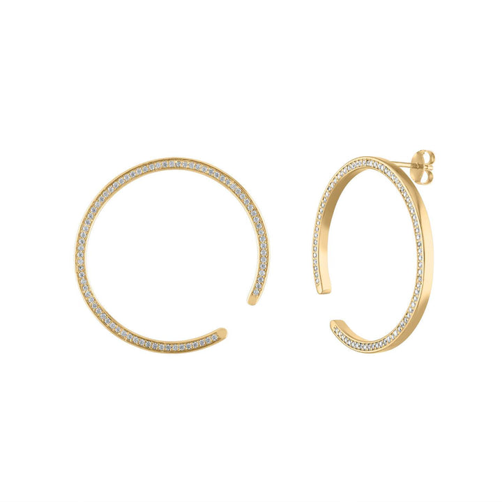 Celestial Illusion Hoops
