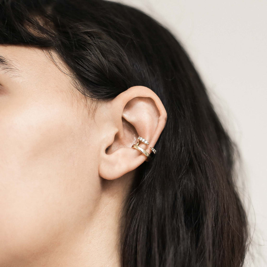 Crystal Claw Ear Cuff at Maison Miru @maisonmiru