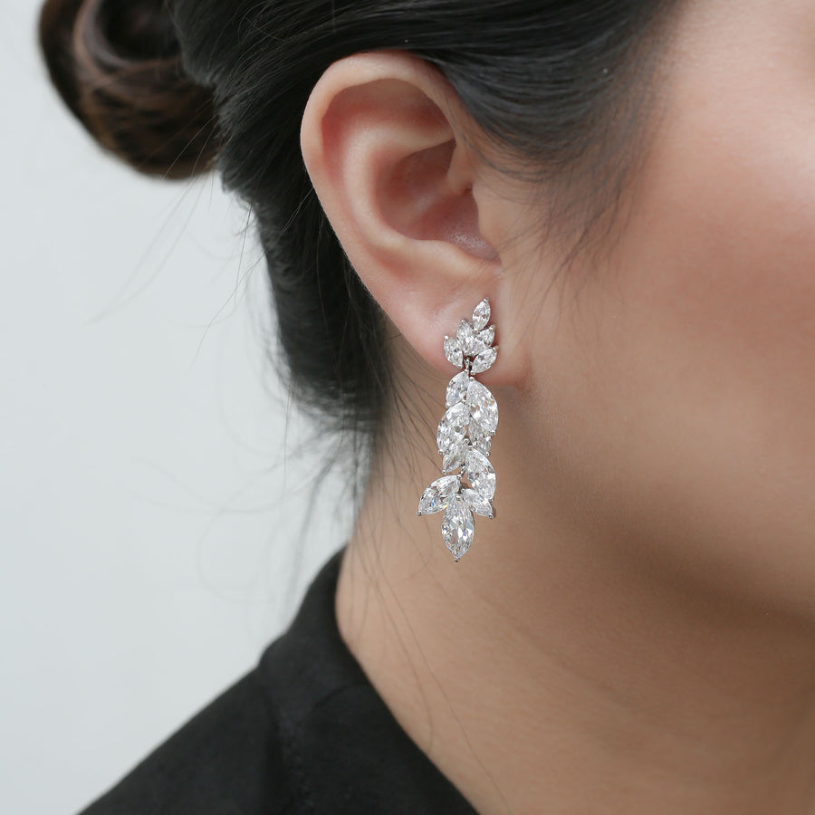 Dalya Earrings on model