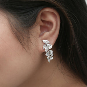 Elisabeth Earrings on model
