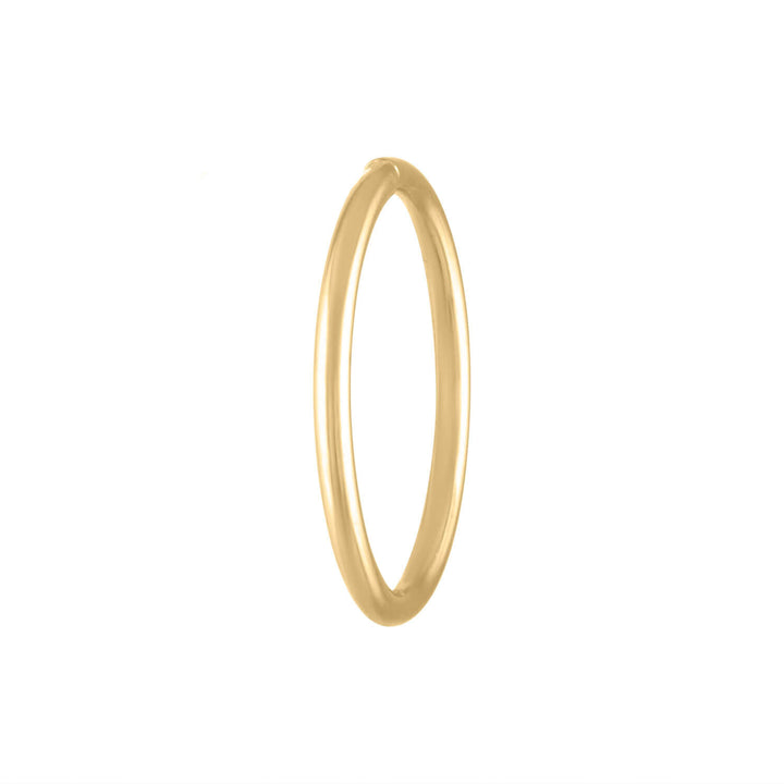 Forever Seamless Hoop in 14k Gold