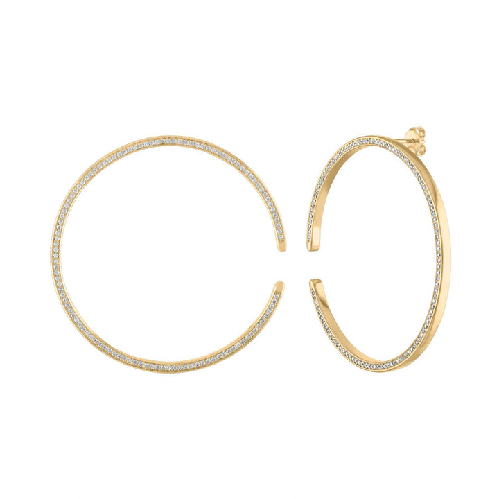 Large Celestial Illusion Hoops