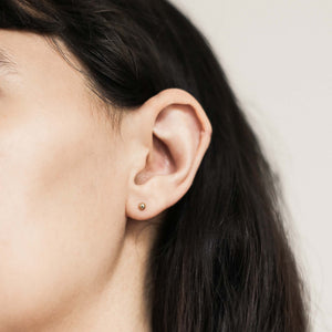 Solid Sphere Studs at Maison Miru Jewelry @maisonmiru