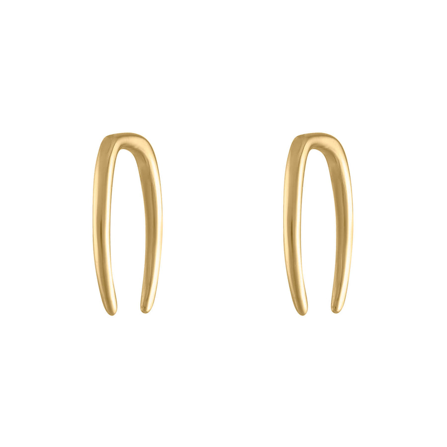 Whisper Open Hoop Earrings in 18g