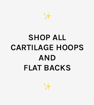 Shop All Cartilage Hoops and Flat Backs