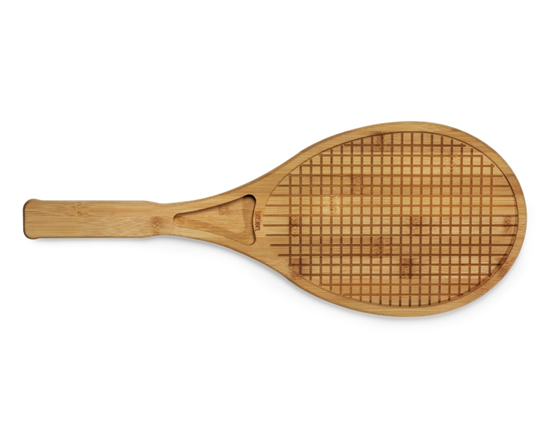 Snij- en presenteer tennisracket