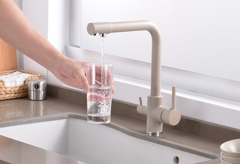 3in1 Healthy water keukenkraan Dual