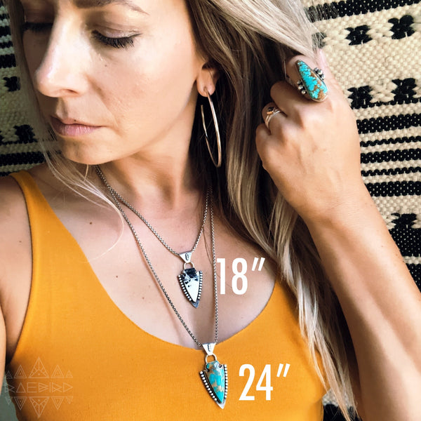 TURQUOISE ARROWHEAD - TWO