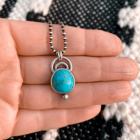 ARCHES TURQUOISE NECKLACE - N0. 2
