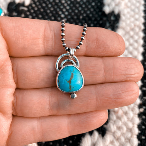 ARCHES TURQUOISE NECKLACE - N0. 3