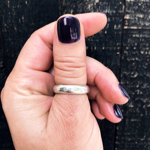 EXTRA THICK SILVER RING - MADE TO ORDER