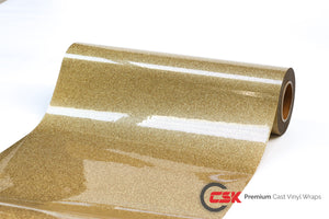Glitter Heat Transfer Gold | GT2004