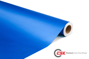 Carbon Fibre 3D Blue | B004