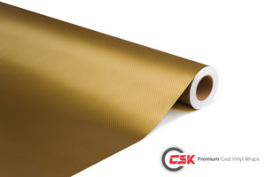 Carbon Fibre 3D Gold | B008