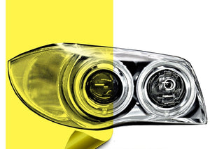 Yellow Headlight Tint