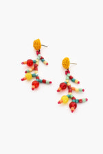 Craft Bead Mix Beaded Top Earrings (Multi)