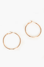 Essential Hoop Earrings (Gold)
