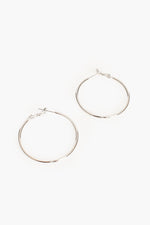 Essential Hoop Earrings (Silver)