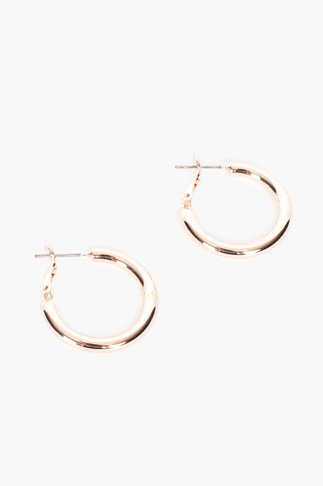 Mid Size Tube Hoops (Rose)