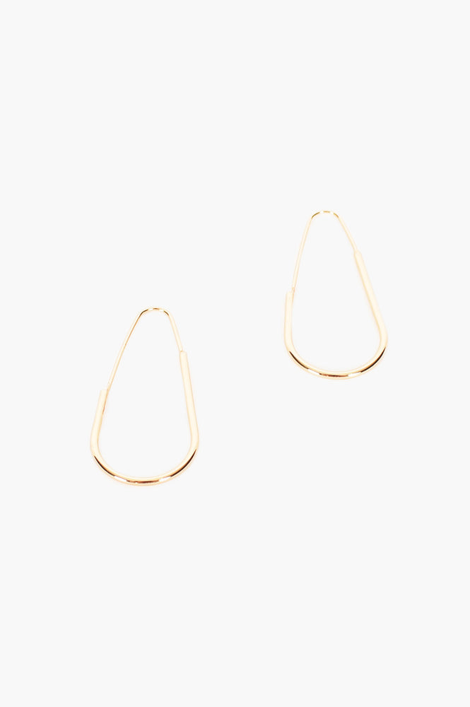 Fine Architectural Hoops (Gold)
