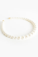 Amelie Pearl Graduated Headband (Cream)