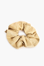 Supersize Linen Scrunchie (Natural)