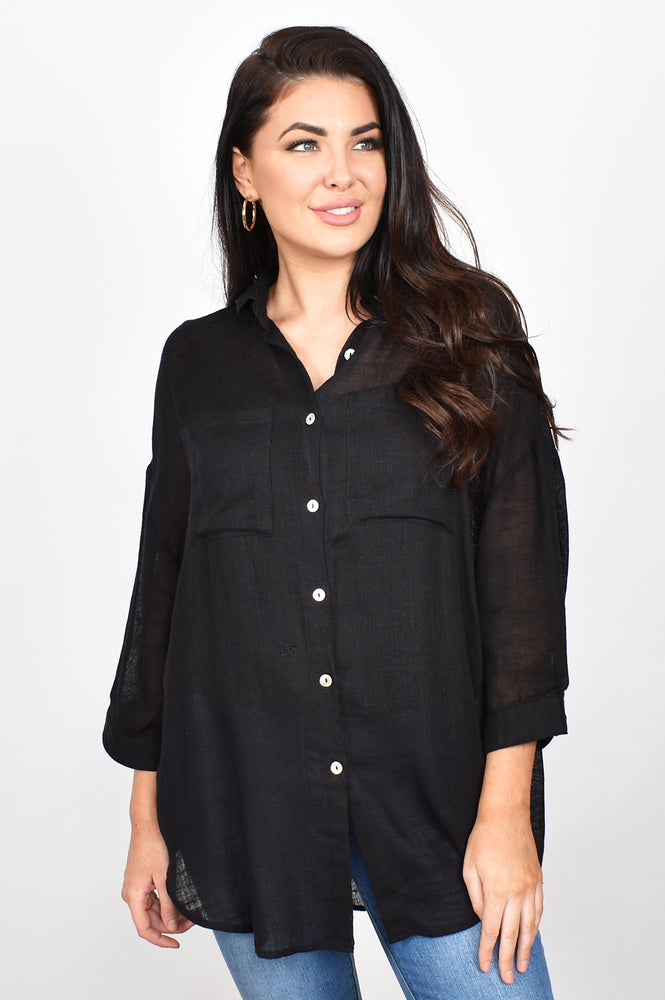 Lauren Shirt (Black)