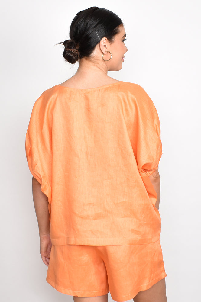 Pippa Unstructured Top One Size (Orange)