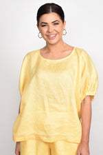 Pippa Unstructured Top One Size (Yellow)