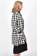 Astrid Check Jacket (Black)