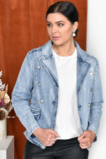 Denim Blazer (Blue)