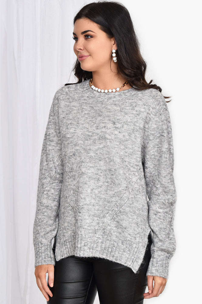 Pia Knit (Grey)
