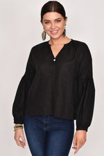Maya Blouse (Black)