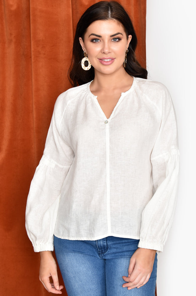 Maya Blouse (White)