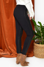 Jupiter Leather Legging (Black)
