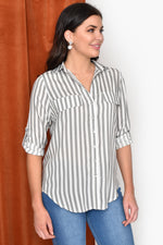 Stripe Shirt (Black)