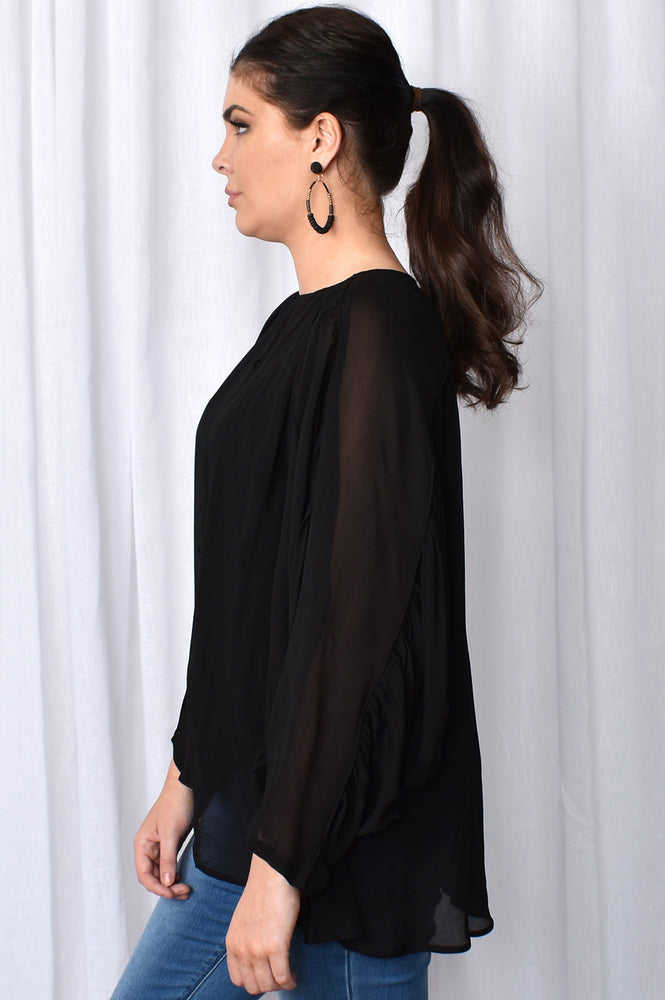 Wuthering Heights Top (Black)