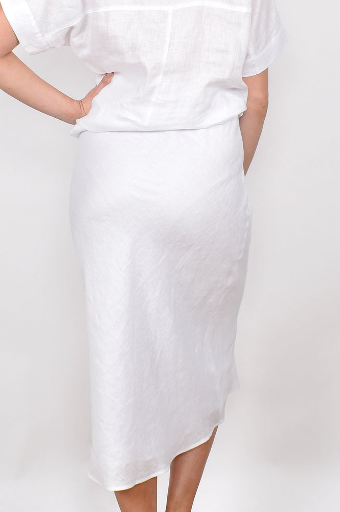 The Sand Pebble Skirt (White)