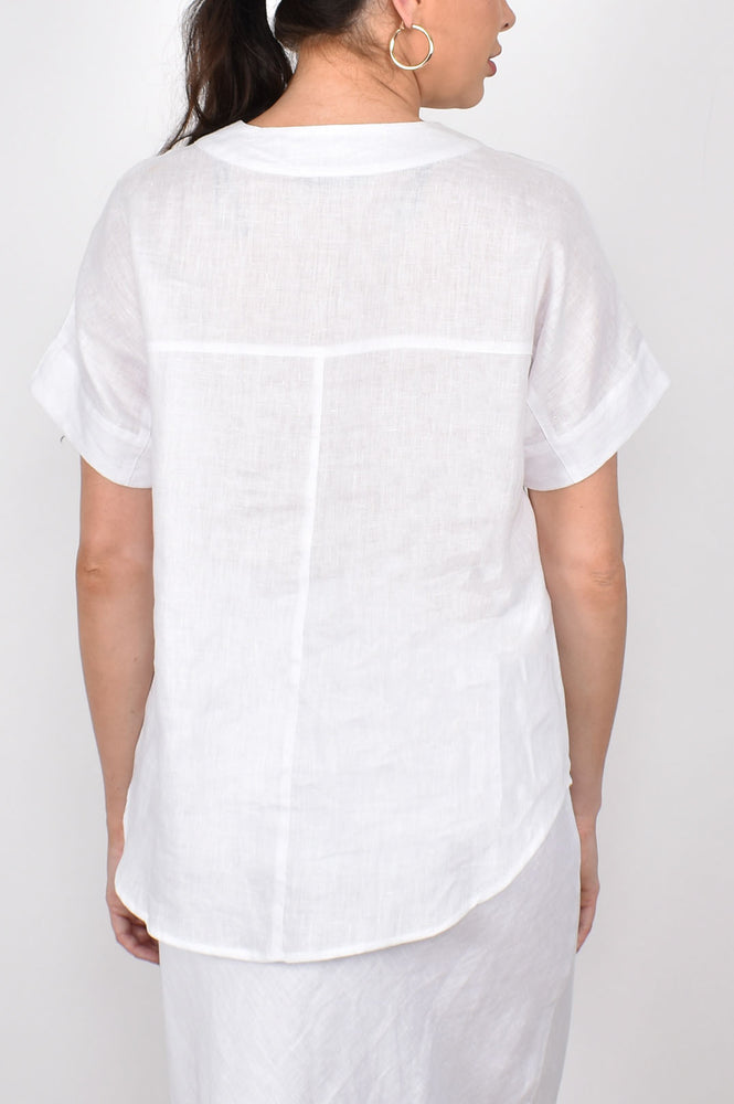 The Sand Pebble Top (White)