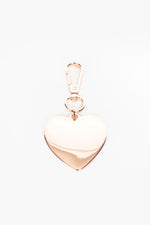 Big Love Heart Keyring (Rose)
