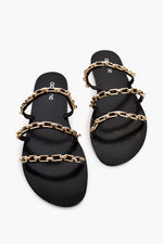 Three Strand Chain Slide (Black)
